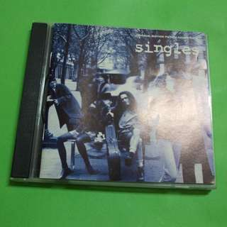 CD VARIOUS ARTISTS : SINGLES ORIGINAL SOUNDTRACK ALBUM (1992) GRUNGE PEARL JAM ALICE IN CHAINS