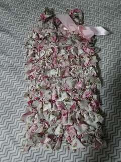 Lace Romper 3mos -9mos