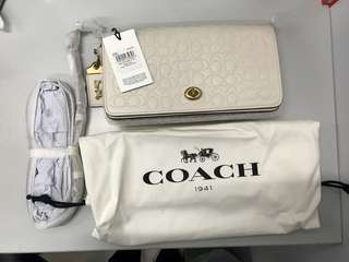 全新 Coach 斜揹袋