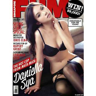 Singapore FHM - November 2013 -  Actress Daniella Sya
