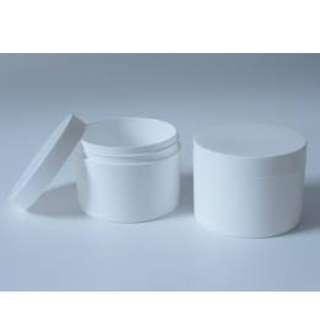 25g white round jar