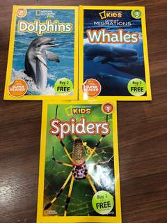 National Geographic Kids ( level 1 ,2 and 3 )