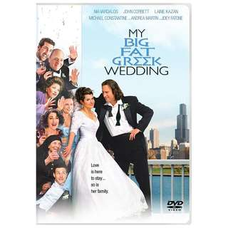 DVD - MY BIG FAT GREEK WEDDING (ORIGINAL USA IMPORT CODE 1)