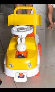 Miffy BB學行/玩具車