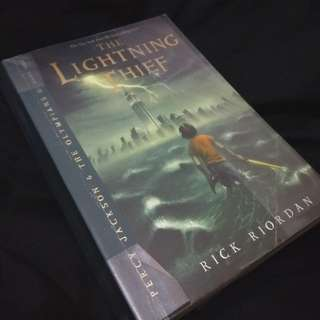 Percy Jackson & The Olympians The Lightning Thief by Rick Riordan