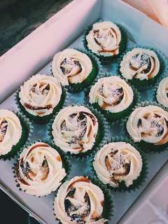 Ondeh-Ondeh Mini Cupcakes