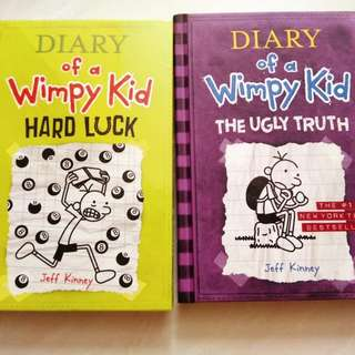 (New) Diary Of A Wimpy Kid Books. Ugly truth. Hard luck