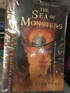 The Sea of Monsters / Rick Riordan