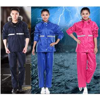 Motorcycle raincoats and pants Rain Coat