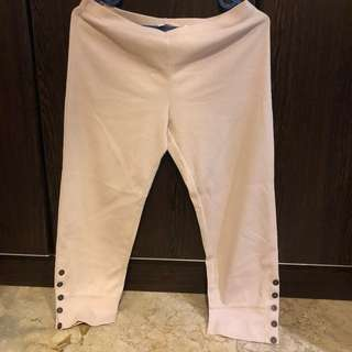 Legging with button detail