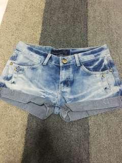 Curve Cut Shorts