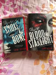 Daughter of smoke and bones book 1 & 2