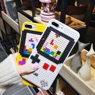 Self-Assembling Lego Tetris iPhone Case for 6 / 7 / 8 + / X