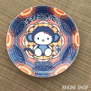 HELLO KITTY BLUE PLATE