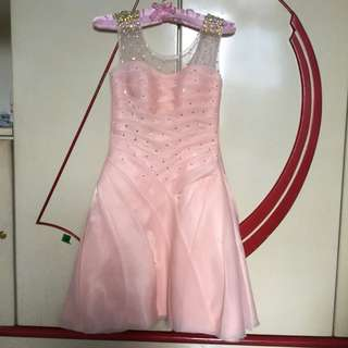 Blush Pink Gown (negotiable)