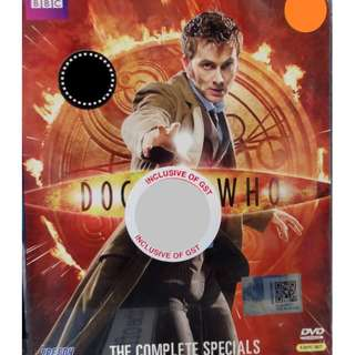 English Drama Doctor Who The Complete Specials DVD