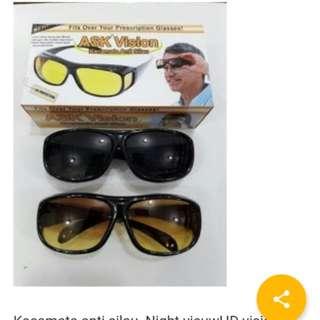 Kacamata anti silau isi