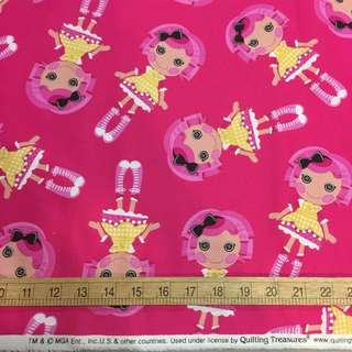 Lalaloopsy Quilting Cotton