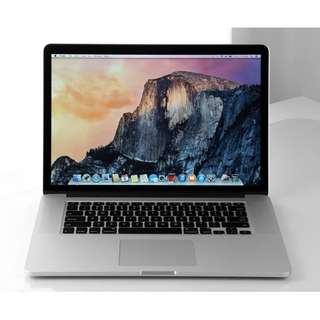 APPLE MacBook Pro 15 頂規款 i7-2.3 GT750M 512G 近全新 電池僅12次 保護貼