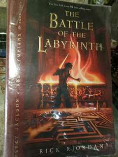 The Battle of the Labyrinth / Rick Riordan