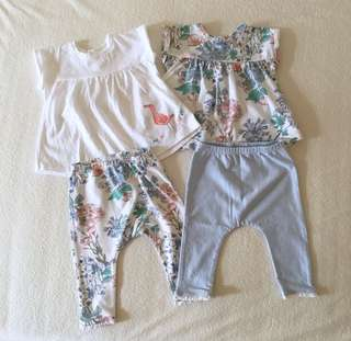Next Baby Girl Set