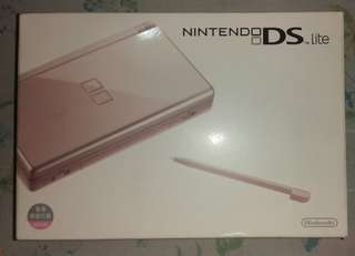 [SALE] Nintendo DS Lite (Metallic Rose Gold)
