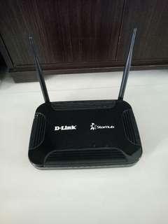 D-Link/StarHub Wi-Fi router