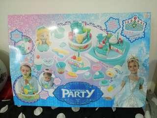 生日派對 公主玩具組