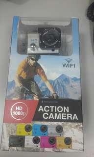 Action Camera 30M Waterproof Wifi