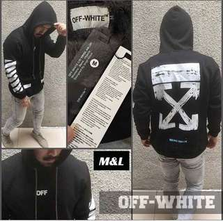 Jaket off white