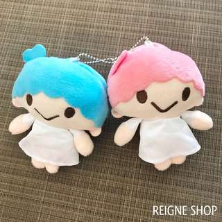 LITTLE TWIN STARS PLUSH CHARM SET