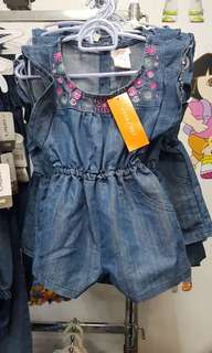 joey fresh denim romper