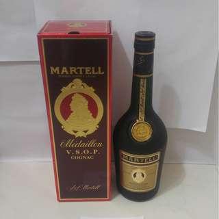 (247) 約80年代 Martell VSOP Medaillon Gold 700ml 40% (有盒) 日本法國舊酒洋酒威士忌白蘭地干邑拿破崙whisky brandy cognac xo vsop napoleon