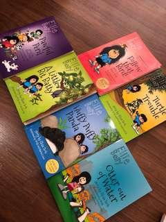 Ellie Belly series book 1,3,4,5,7,8