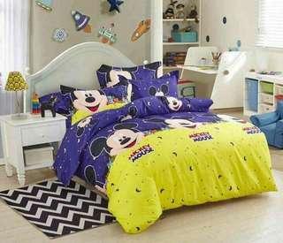 Bedsheet set characters