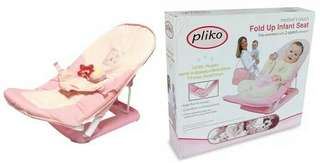 Pliko fold up infant seat - PINK