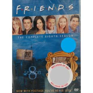 English Drama Friends The Complete Eighth Season DVD