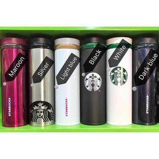 Malaysia Starbucks Thermos Tumbler  💰480  -500ml -with starbucks box and card -contain hot&cold up to 8hours *sv