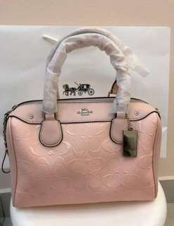 AUTHENTIC COACH SIGNATURE EMBOSSED