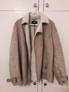 H & M Sheepskin Jacket
