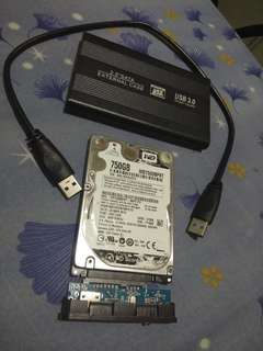 750 gb external hard disk