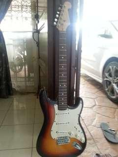 Guitar amblifier distortion