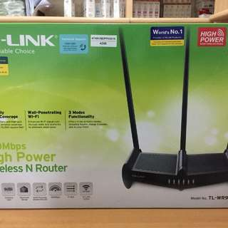 Tp Link Tl-Wr941Hp Wireless & Router 450mbps high power