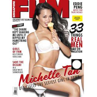 FHM Singapore - August 2013 - FHM Models 2013, Michelle Tan