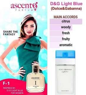 D&G Light Blue Eau de Parfum for Women 50ml