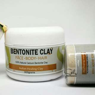 Bentonite Clay And soap set