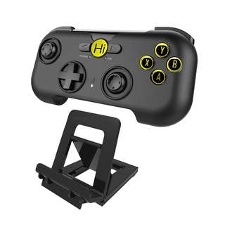 300. Hi-SHOCK® Bluetooth Game Controller/Gamepad/Joystick for Android Smartphones/Tablets [rechargeable | Android | black]