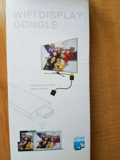 Wifi display dongle HDMI. Can use for Andriod, IOS, notebook too.