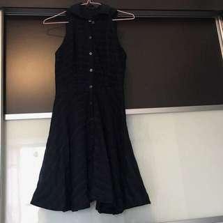 Armani Exchange AX Navy Dress 360度大裙擺 深藍 裙