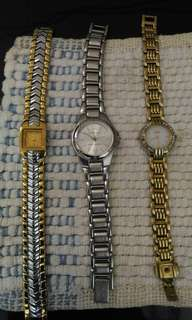 Take 3 Ladies Wrist Watches for only 4,500
